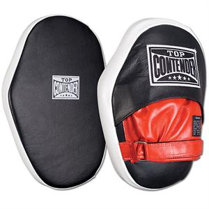Hook & Loop Leather Punch Mitts